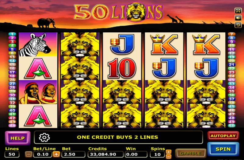 lion slot games