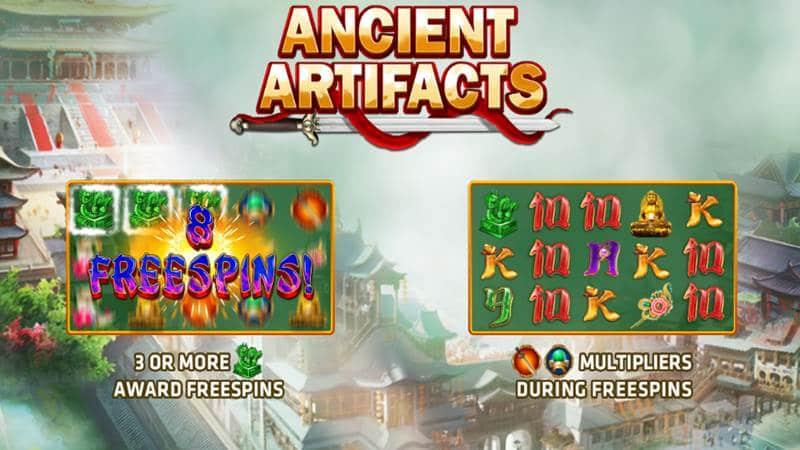รีวิวเกมสล็อต Ancient Artifacts แอพมือถือหาเงินออนไลน์