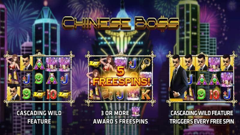 รีวิว Chinese Boss เกมส์เจ้าพ่อมาเฟีย แอพสล็อต xo ออนไลน์