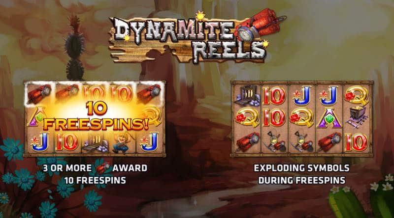 สล็อต Dynamite Reel เกมส์ลงทุนออนไลน์ เล่นโบนัสได้กำไรสูง