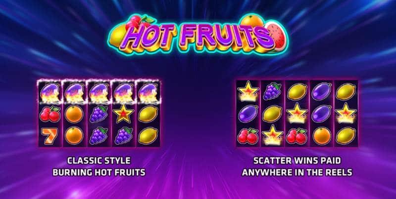รีวิวสล็อตผลไม้ Hot Fruits เกมส์หาเงินออนไลน์ เล่นแล้วไม่ขาดทุน