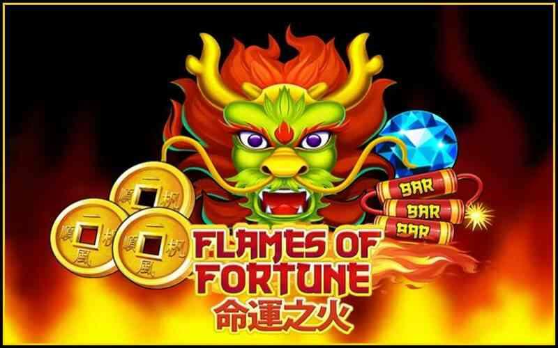 Flames of Fortune รีวิวเกม slotxo เล่นง่ายได้เงินจริง 2021 หมุนสล็อต 1 บาท