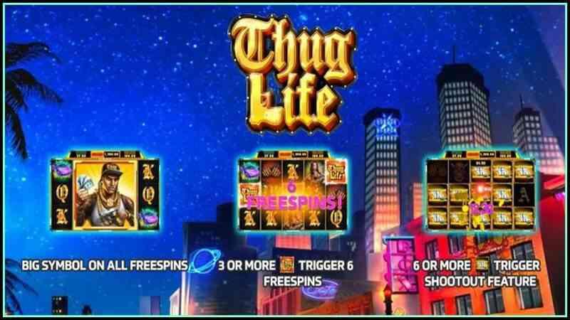 สล็อตออนไลน์ slotxo รีวิวเกมใหม่ Thug Life เล่นเกมสุดชิค ได้เงินจริงแน่นอน!!