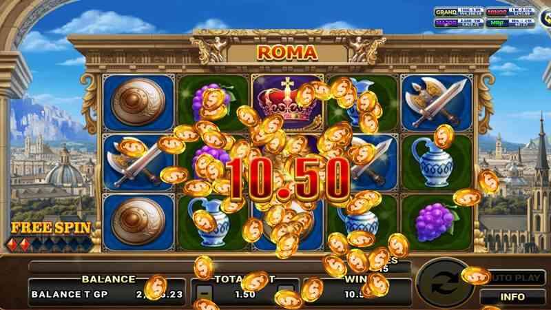 สล็อต roma game online
