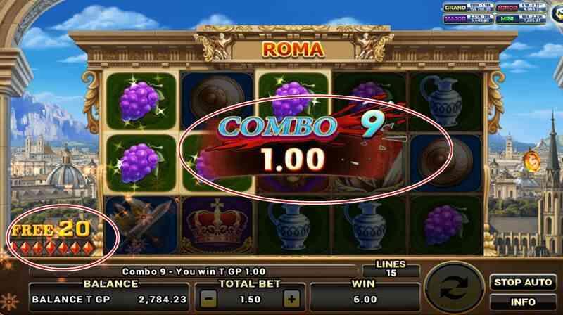 สล็อต roma game
